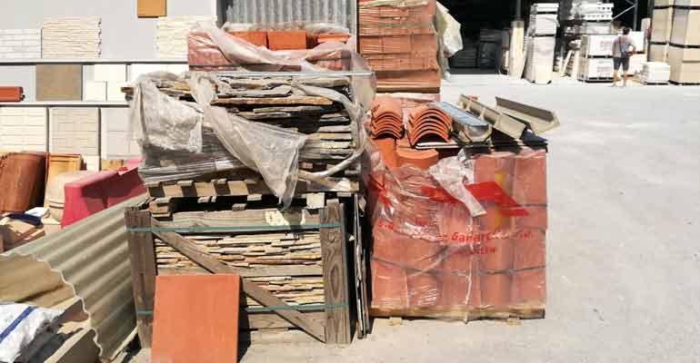 Ceyma M.72 materiales de construcción