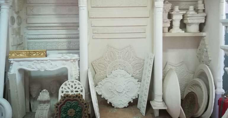 Molduras de escayola decorativas