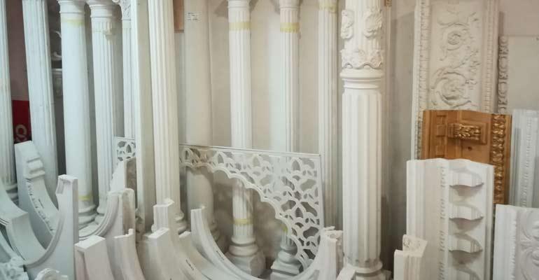 Columnas y productos de escayola de máxima calidad
